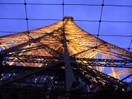 The Eiffel close up. (Allan Lynch Photo)