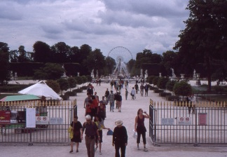 Tuileries Gardens, home of the chocolate-covered flan. (Allan Lynch Photo)