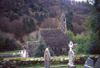 Part of the ancient monastic community of Glendalough. (Allan Lynch Photo)